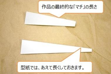 レザークラフト通信講座_型紙_マチ_作り方6
