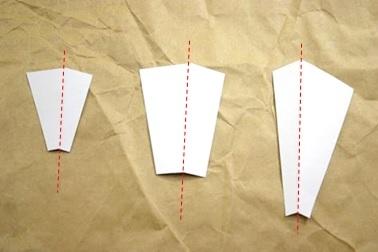 レザークラフト通信講座_型紙_マチ_非対称