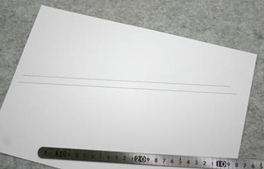 レザークラフト通信講座_平行線描き方3