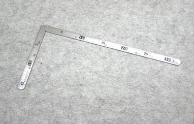 レザークラフト通信講座_曲尺